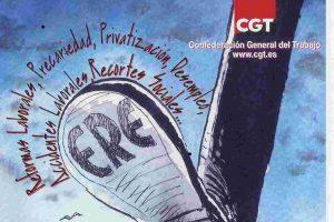 La CGT rechaza los EREs presentados por las empresas del sector del auto.