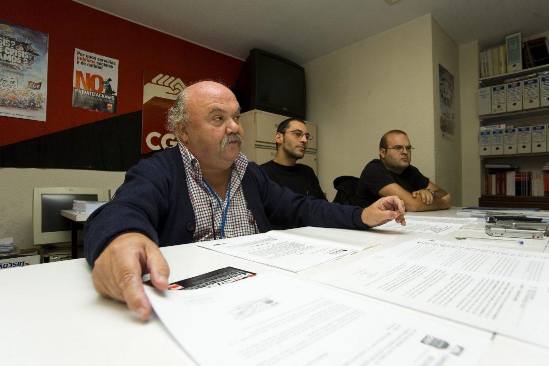 CGT se querellará contra la Comunidad de Madrid por vulneración de derechos (9/10/08)
