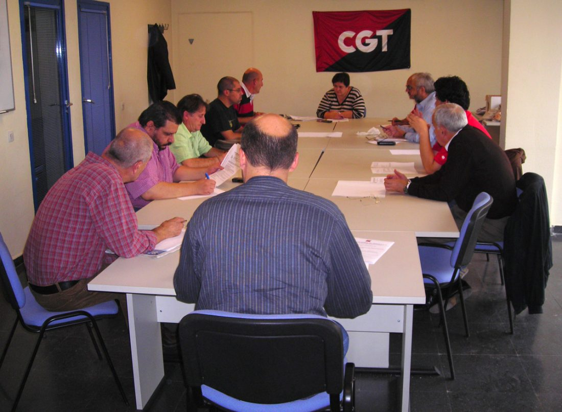 CGT Madrid-Castilla La Mancha inaugura con una plenaria los nuevos locales de patrimonio sindical ocupados en la calle Alenza