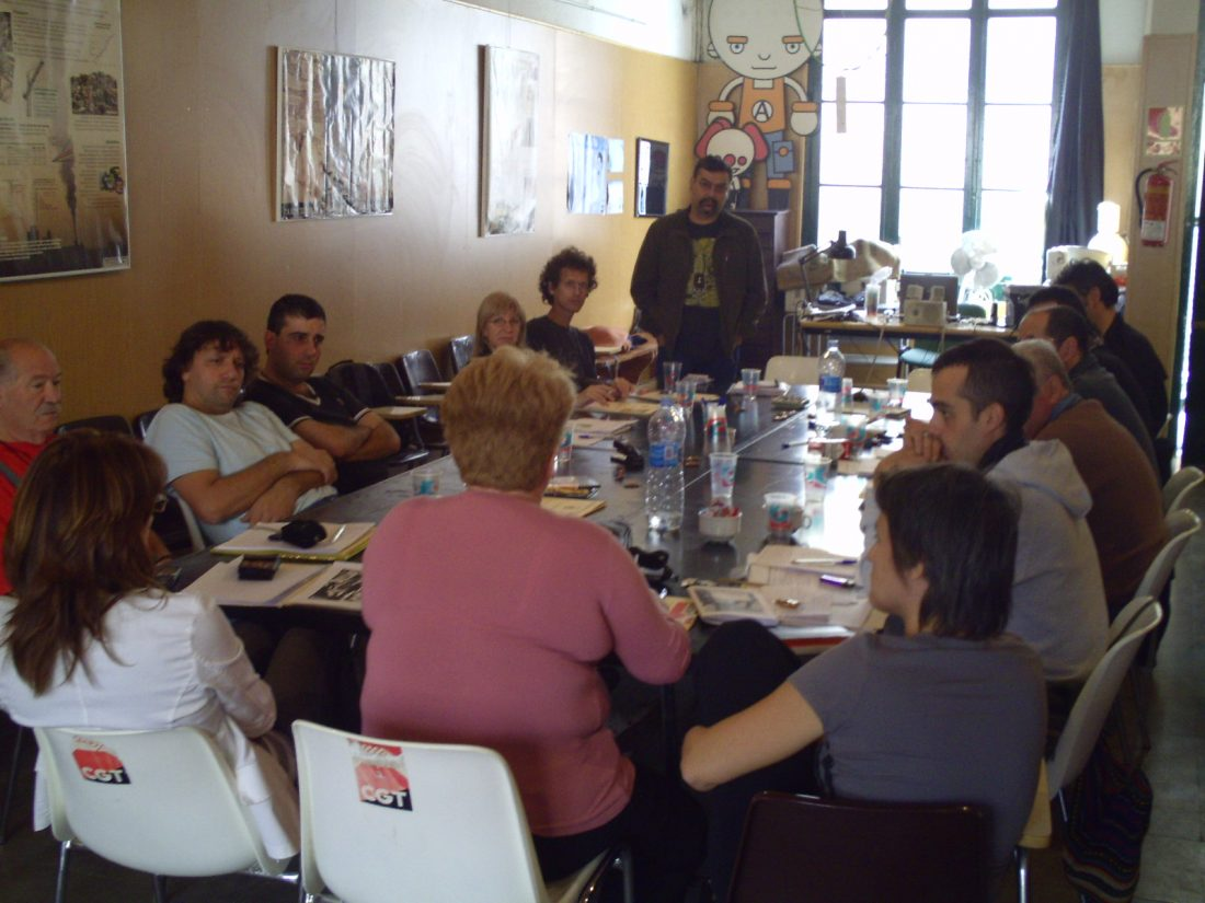 Resumen y conclusiones de las Jornadas Antirrepresivas celebradas en Terrassa (2-4/X/08)