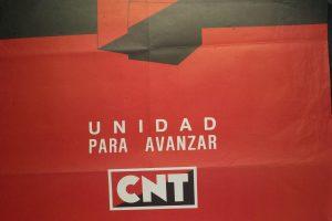 Cartel IX Congreso Extraordinario de Unificación CNT (Madrid 1984)