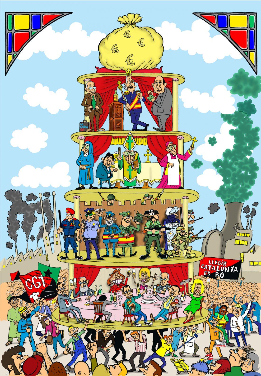 Cartel Pirámide A (2008)