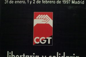 Cartel XIII Congreso CGT (Madrid 1997)