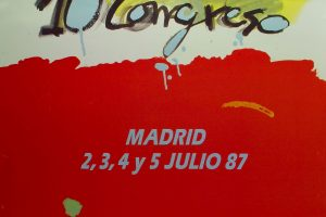 Cartel X Congreso CNT (Madrid 1987)