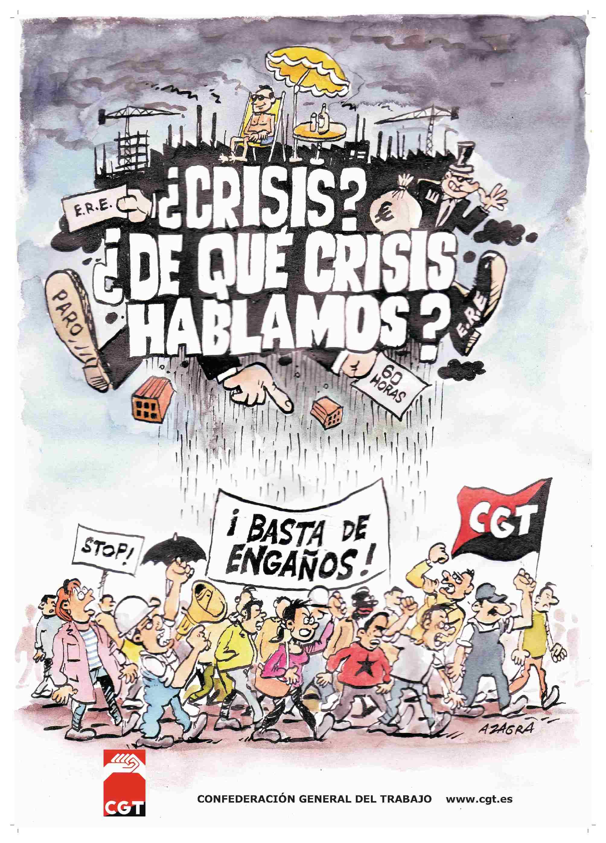 ¿Crisis,…? ¿De qué crisis hablamos?