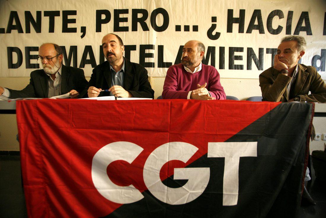 CGT denuncia la política de destrucción y precarización del empleo en el BBVA (13/11/08)