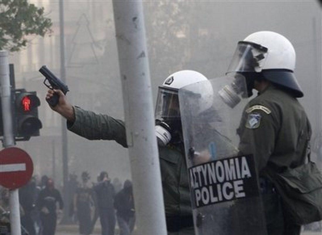 Grecia: represión del estado ante las protestas de los movimientos sociales