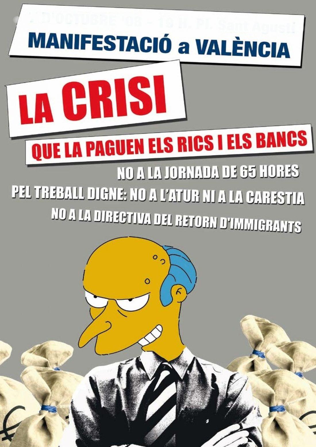 La crisis: Que la paguen los ricos y los bancos!!