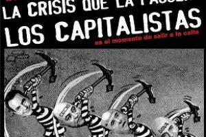 Manifestación en Málaga: «¡La crisis que la paguen los capitalistas!»