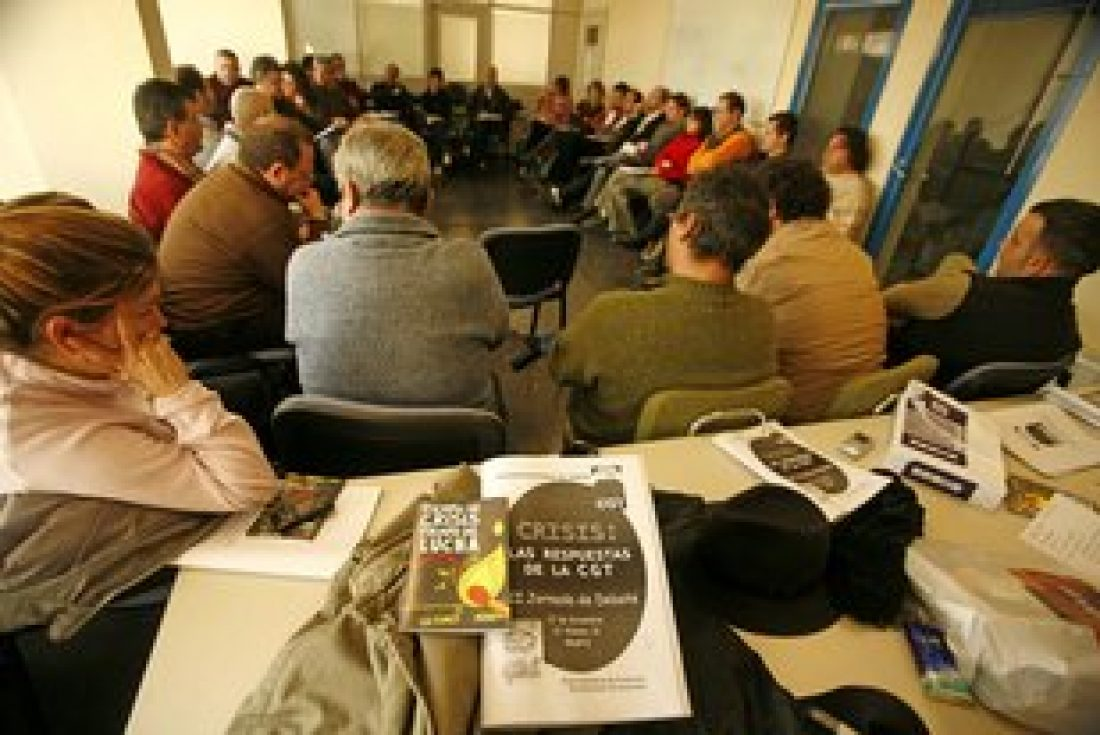 Celebrada la Jornada de Debate: «Crisis: las respuestas de CGT»