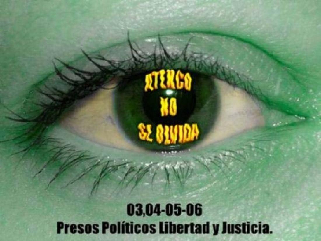 Acción Urgente por los presos políticos de Atenco