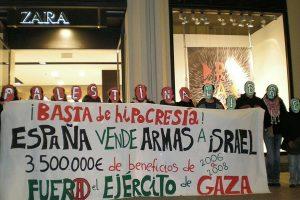 Paremos la masacre de Gaza. Boicot a Israel
