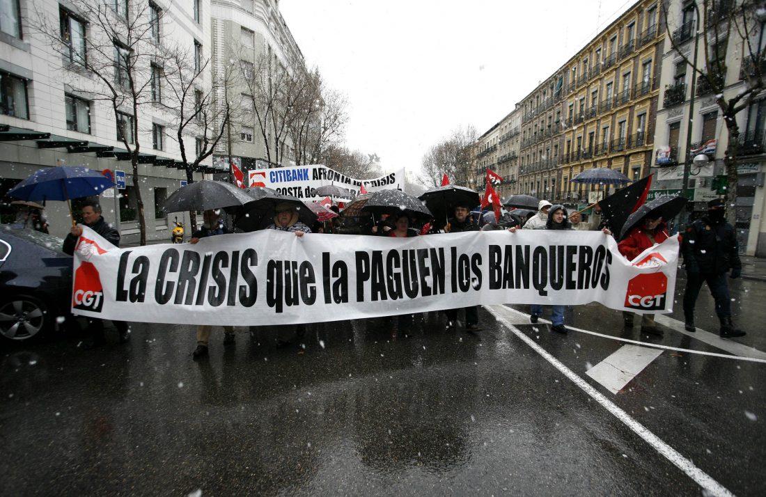 Crónica, fotos y video de la manifestación de Madrid.