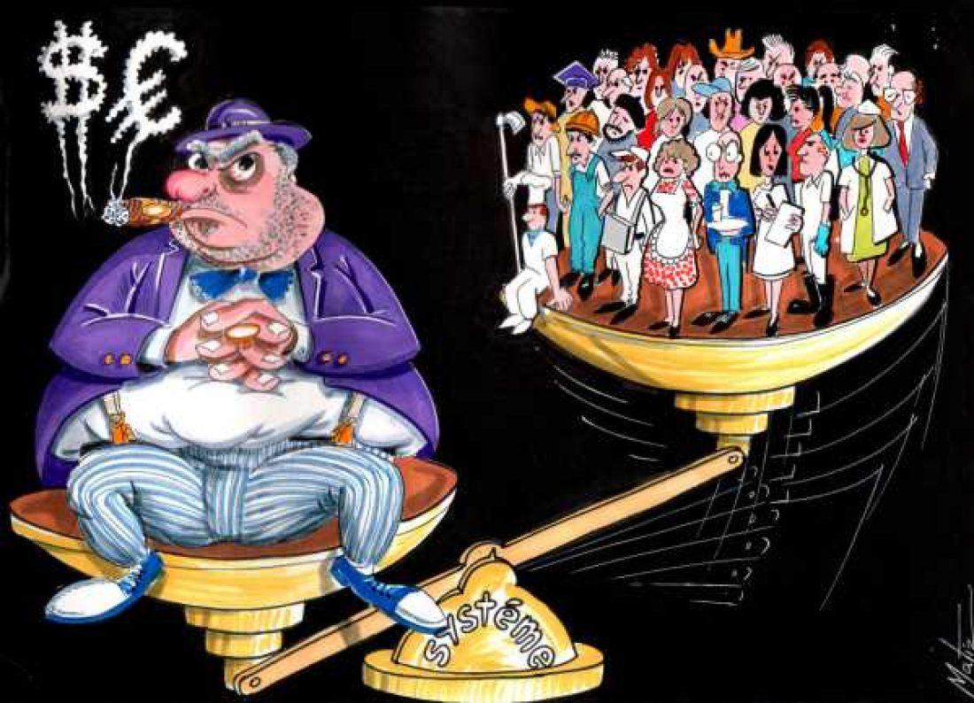 La clase obrera, al paro y a la precariedad; los responsables, a las Bahamas.