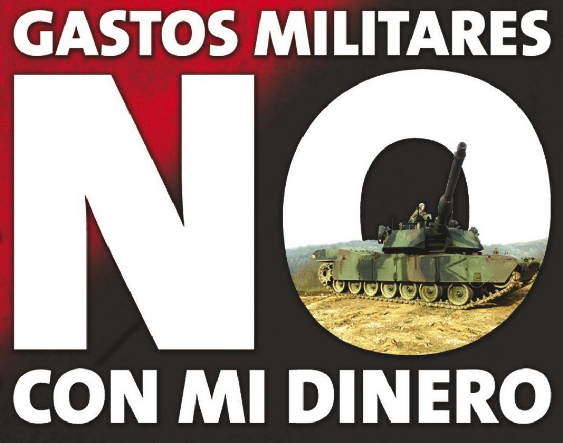 Campaña CGT Objeción Fiscal al gasto militar 2009
