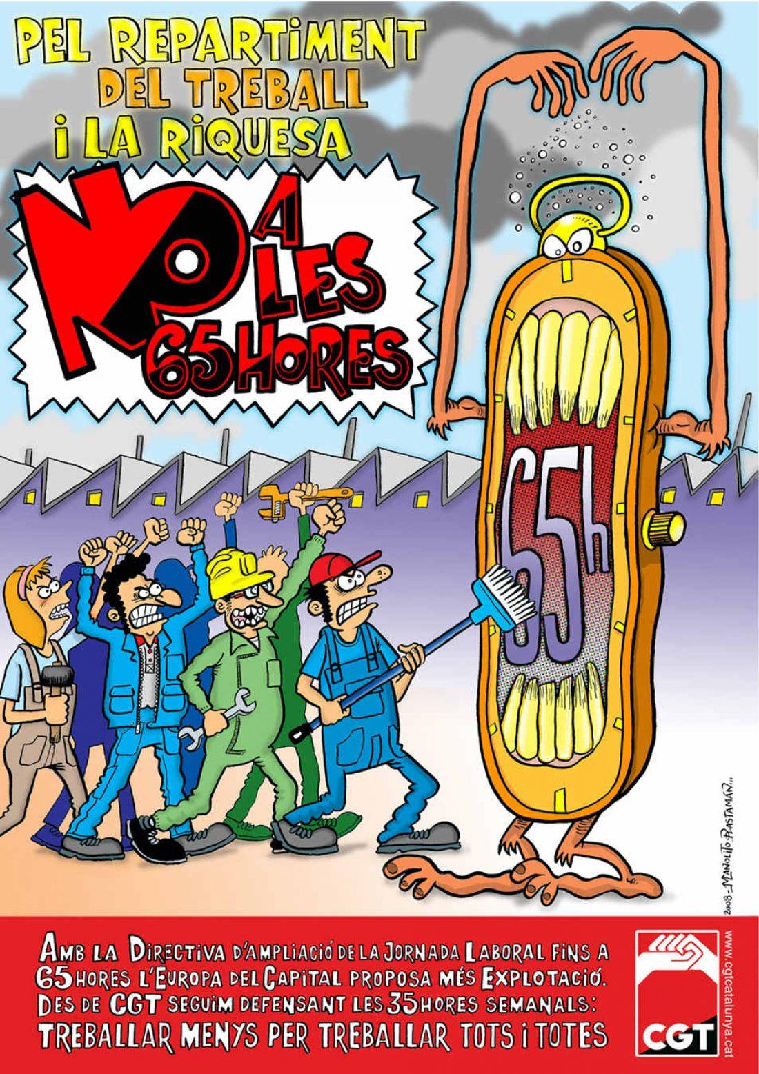 """La no aprobación de la """"Directiva de las 65 horas"""": ¿hay algo que celebrar?"""