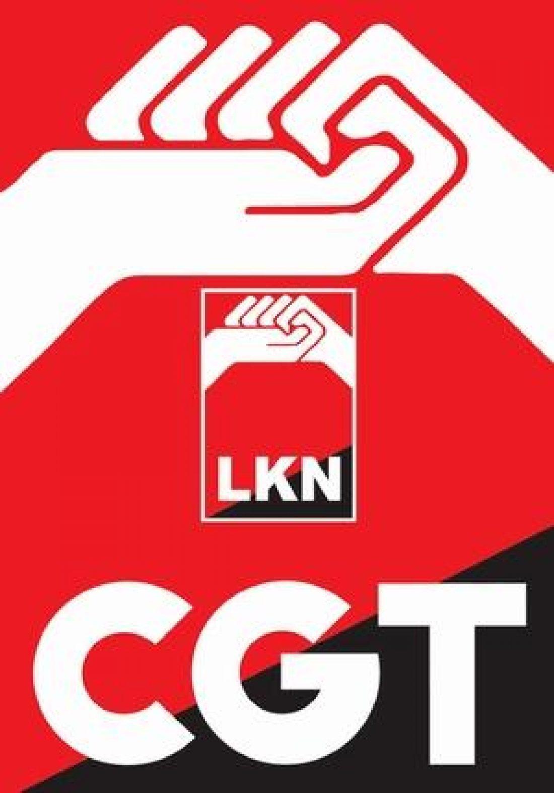 Comunicado de CGT-LKN ante la huelga general convocada para el 21 de mayo en Euskadi