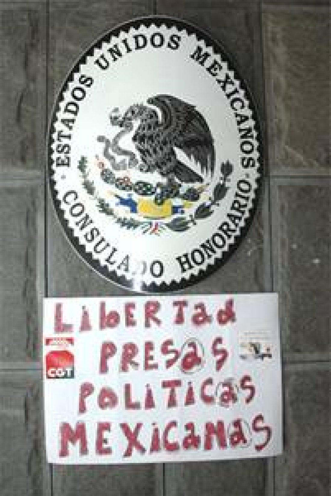 30 de Mayo: Jornada de Acción en solidaridad con las presas y presos políticos del gobierno mexicano