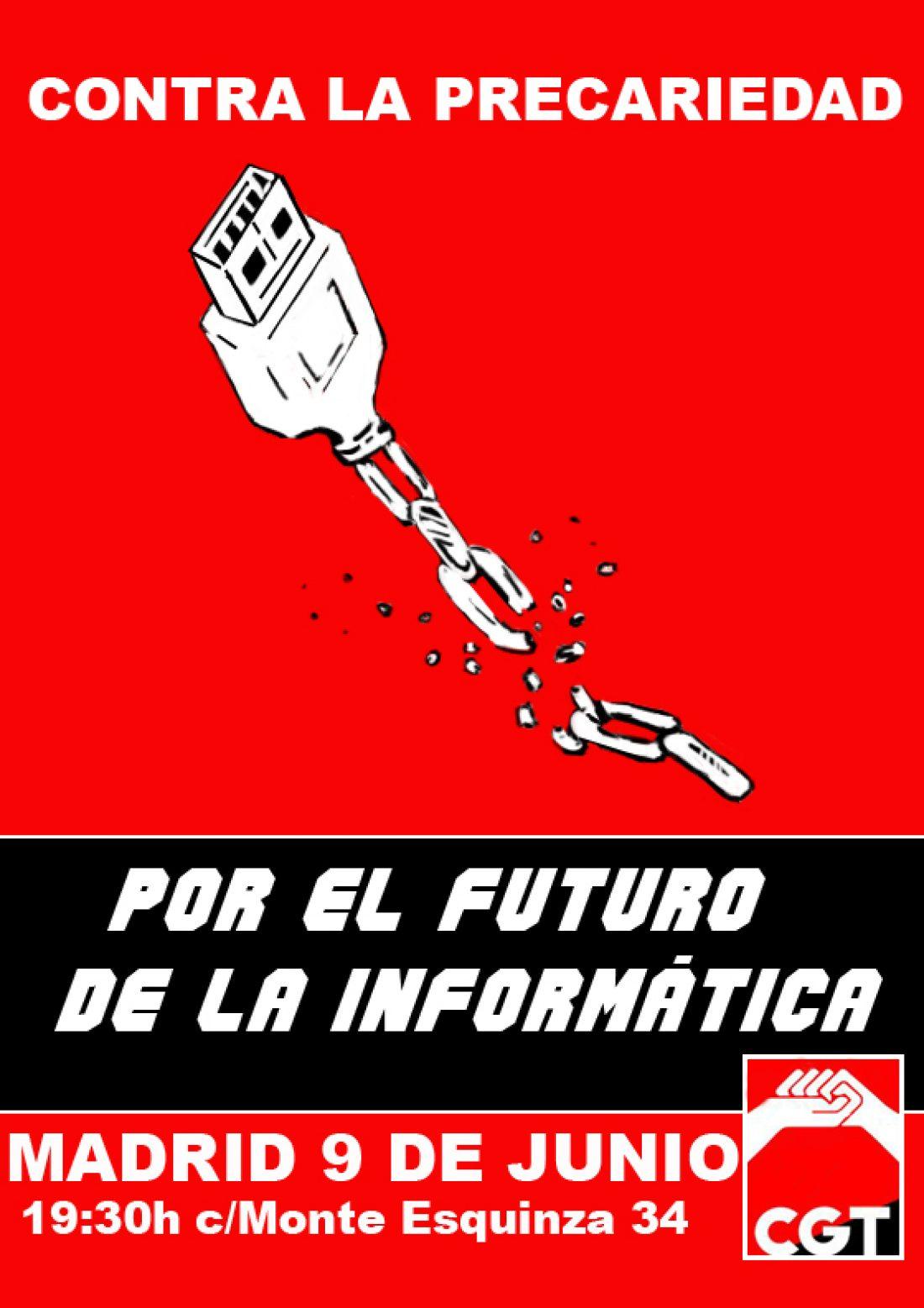 9 de Junio: Movilizaciones en Madrid y Barcelona del sector de Consultoría e Informática