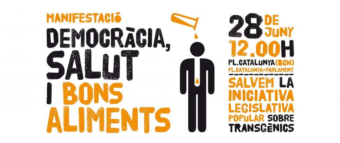 Manifestación «Salvemos la ILP contra los transgénicos!»
