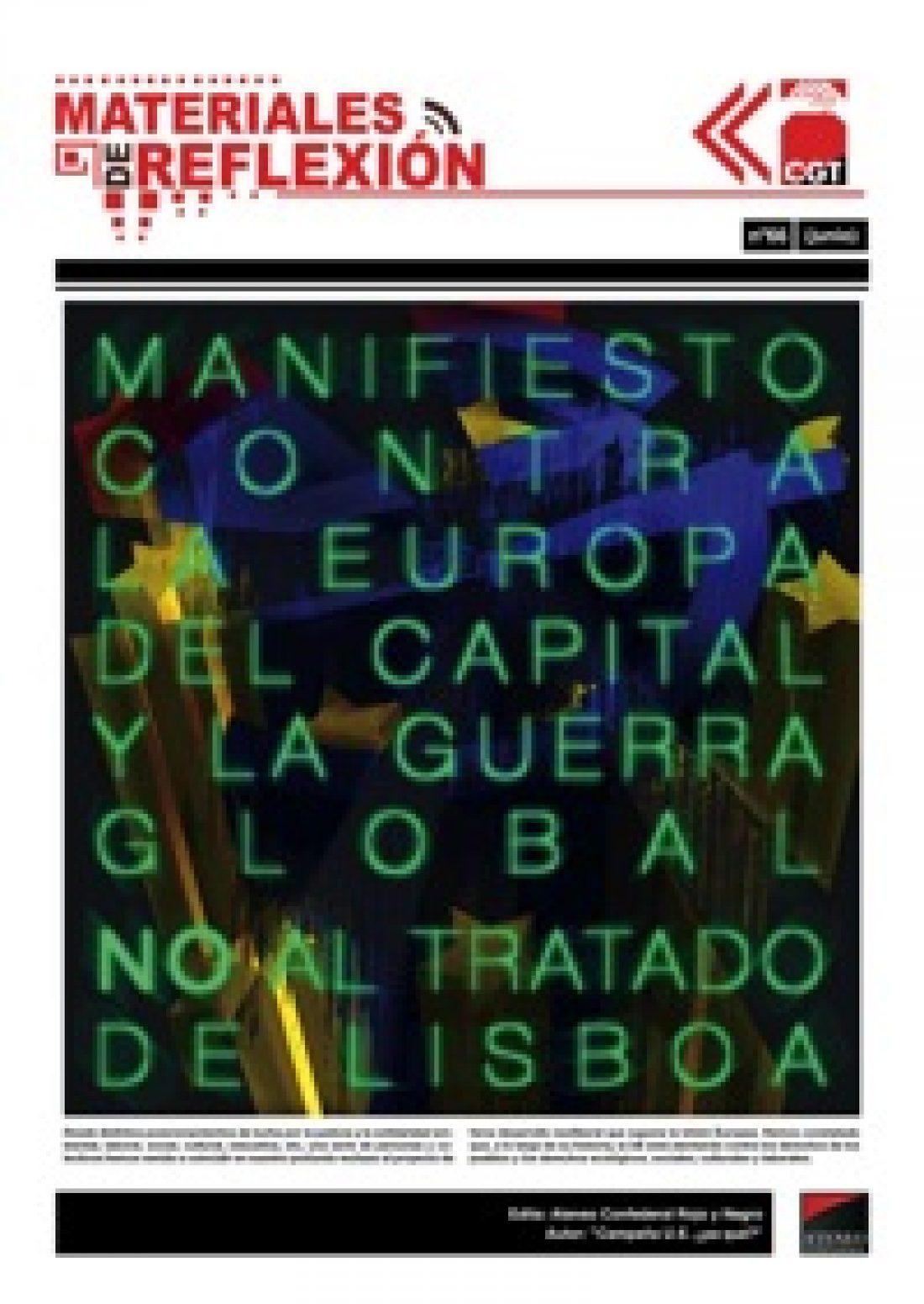 MR nº 66: «Manifiesto contra la Europa del Capital y la Guerra Global»