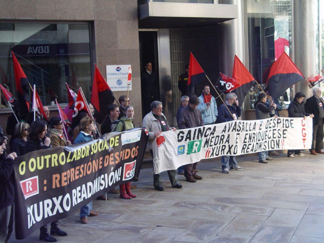 Campaña de Solidaridad por el despido del compañero Xurxo Gómez