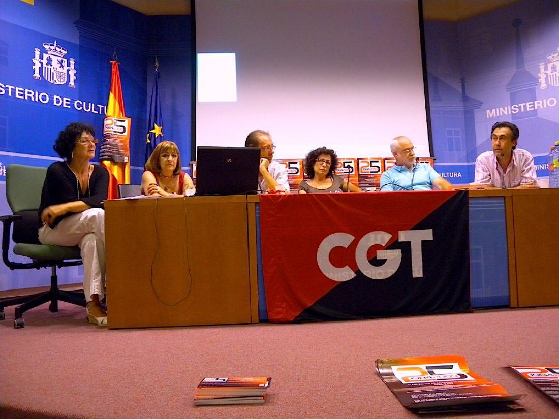 Celebrados los actos de conmemoración de los 25 años de la CGT