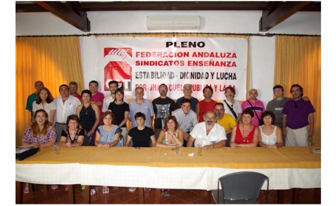 Celebrado Pleno de la Federación Andaluza de Sindicatos de la Enseñanza de CGT