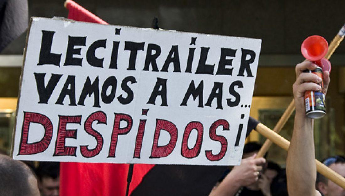 Concentraciones en contra los despidos «vengativos» en Lecitrailer