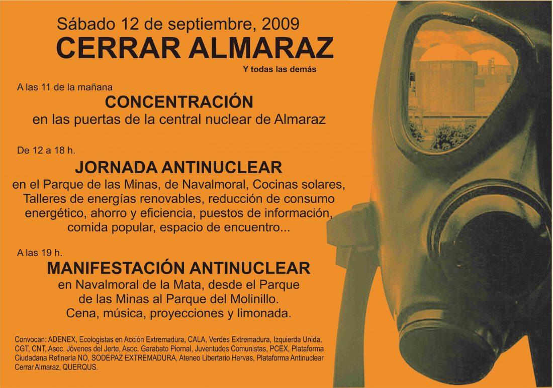 «Cerrar Almaraz 2009».