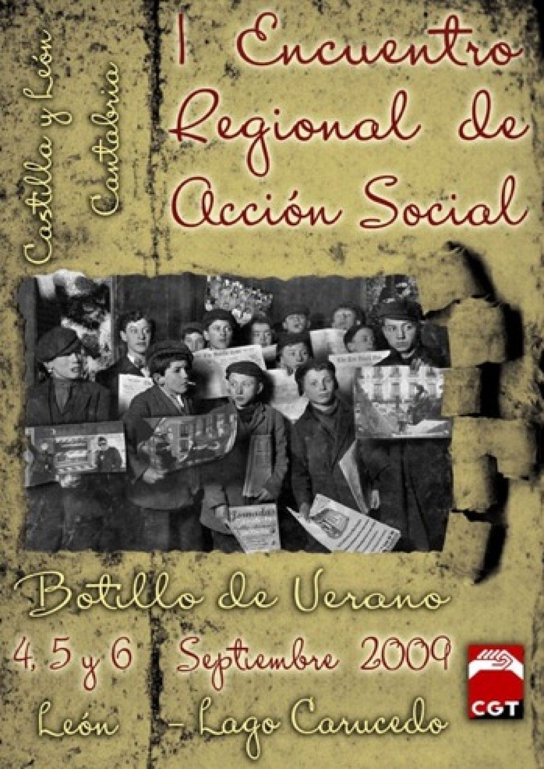 Botillo de Verano: 1er Encuentro de CGT Castilla y León-Cantabria de Acción Social