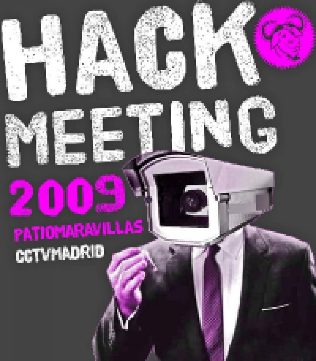 Del 9 al 12 de octubre, en el Patio Maravillas (Madrid), HACKMEETING'09.