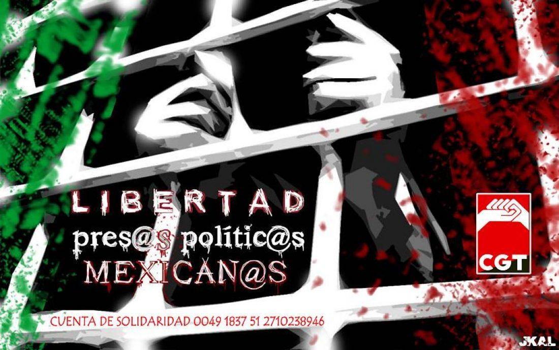 Campaña de Solidaridad con las presas y presos políticos mexicanos
