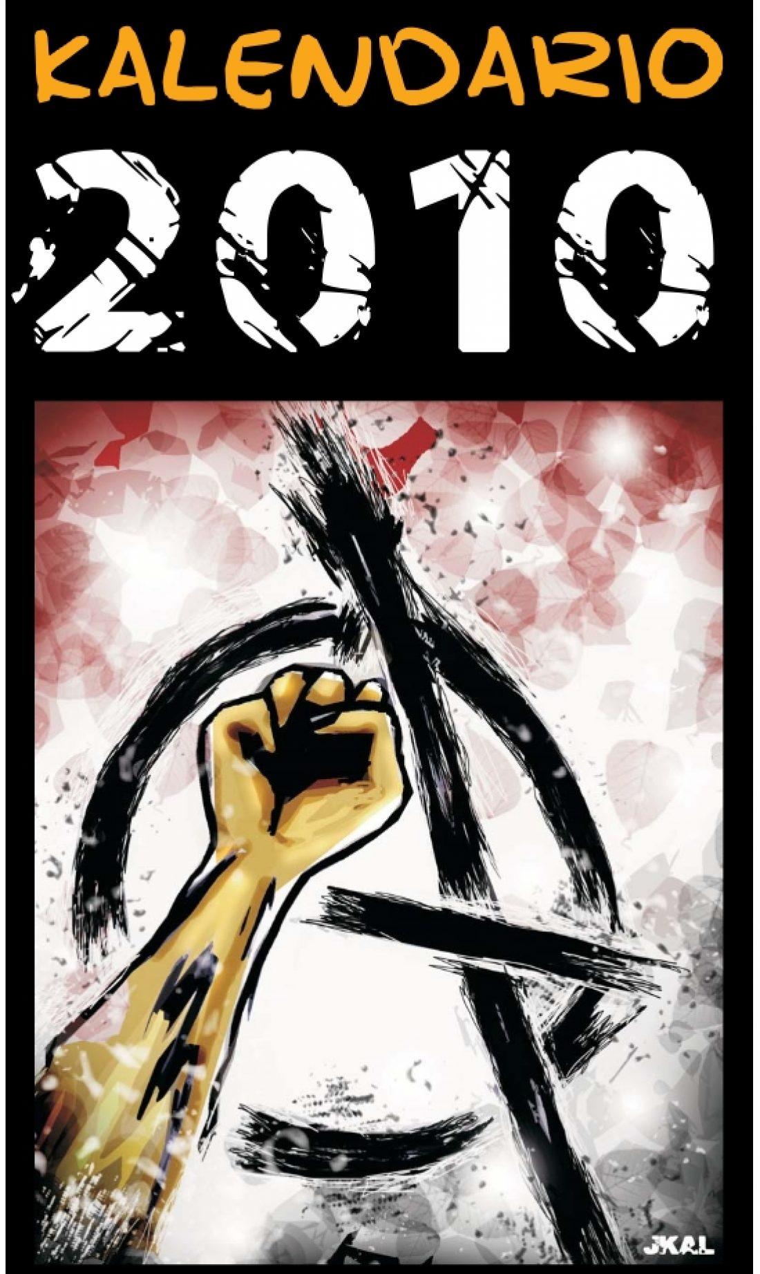 «Kalvendario 2010»: El almanaque de JKalvellido
