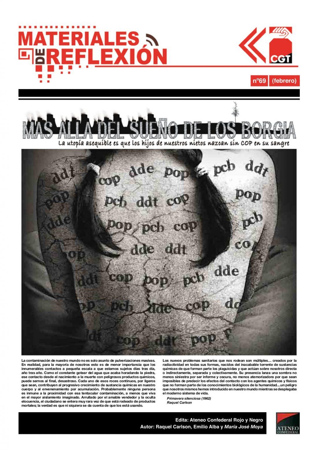 MR nº 69. Enero de 2010. «Mas allá del sueño de los Borgia»