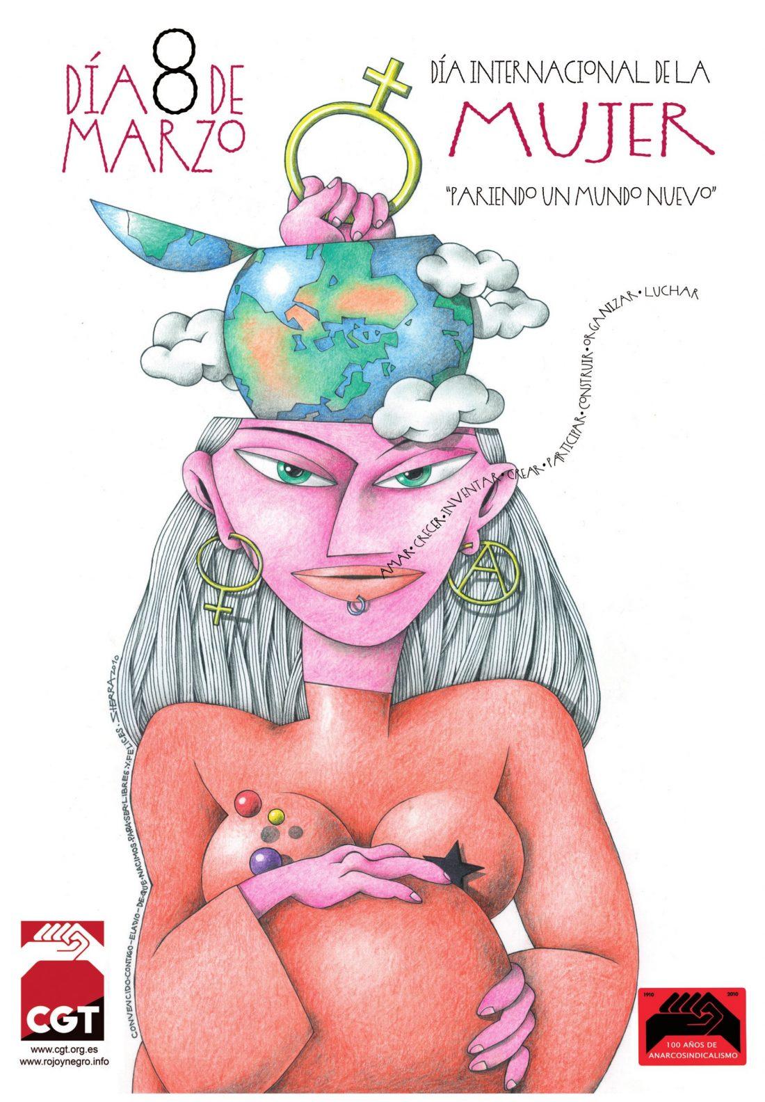 Actos del 8 de Marzo, Día Internacional de la Mujer Trabajadora