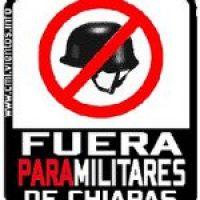 A toda la CGT:  Llamamiento internacional. Paremos la guerra en Chiapas