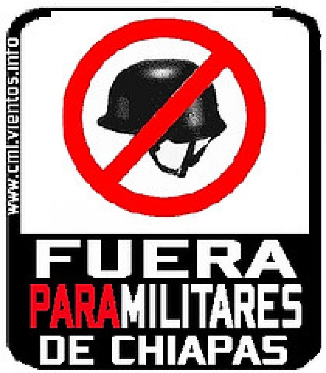 L@s Zapatistas no están sol@s!! Campaña de solidaridad y acciones por la desmilitarización de Chiapas