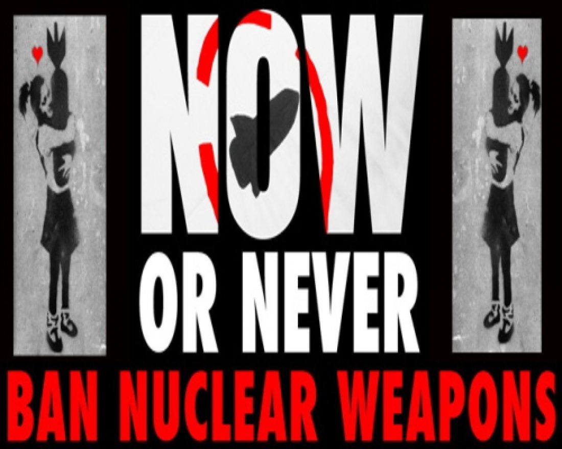 Desarme nuclear: ¡Ahora o nunca! Convocatoria del día de acción europeo contra las armas nucleares (3 de Abril).