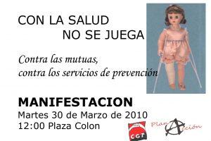Valladolid, 30 de Marzo: Próxima acción del Plan A de CGT