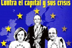 Madrid, 17 de Abril: CGT M-CLM-EX convoca una concentración «Contra el capital y sus crisis»