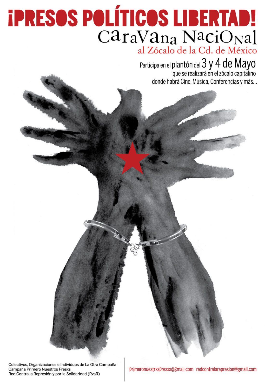Libertad para las presas y presos políticos de México