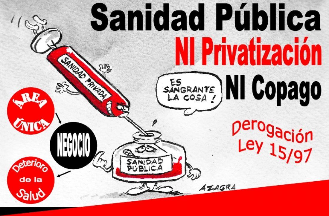 22 de Abril: Manifestaciones por la defensa y mejora de la sanidad pública en Valencia, Madrid y Barcelona