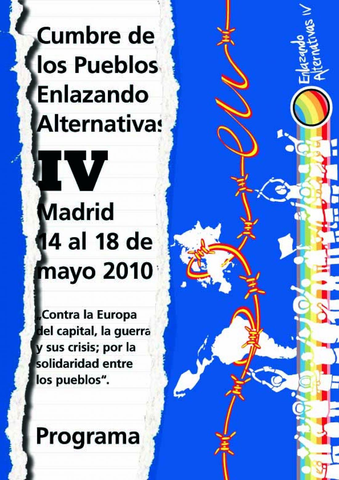Madrid, 14-18 de Mayo: Cumbre de los Pueblos «Enlazando Alternativas»
