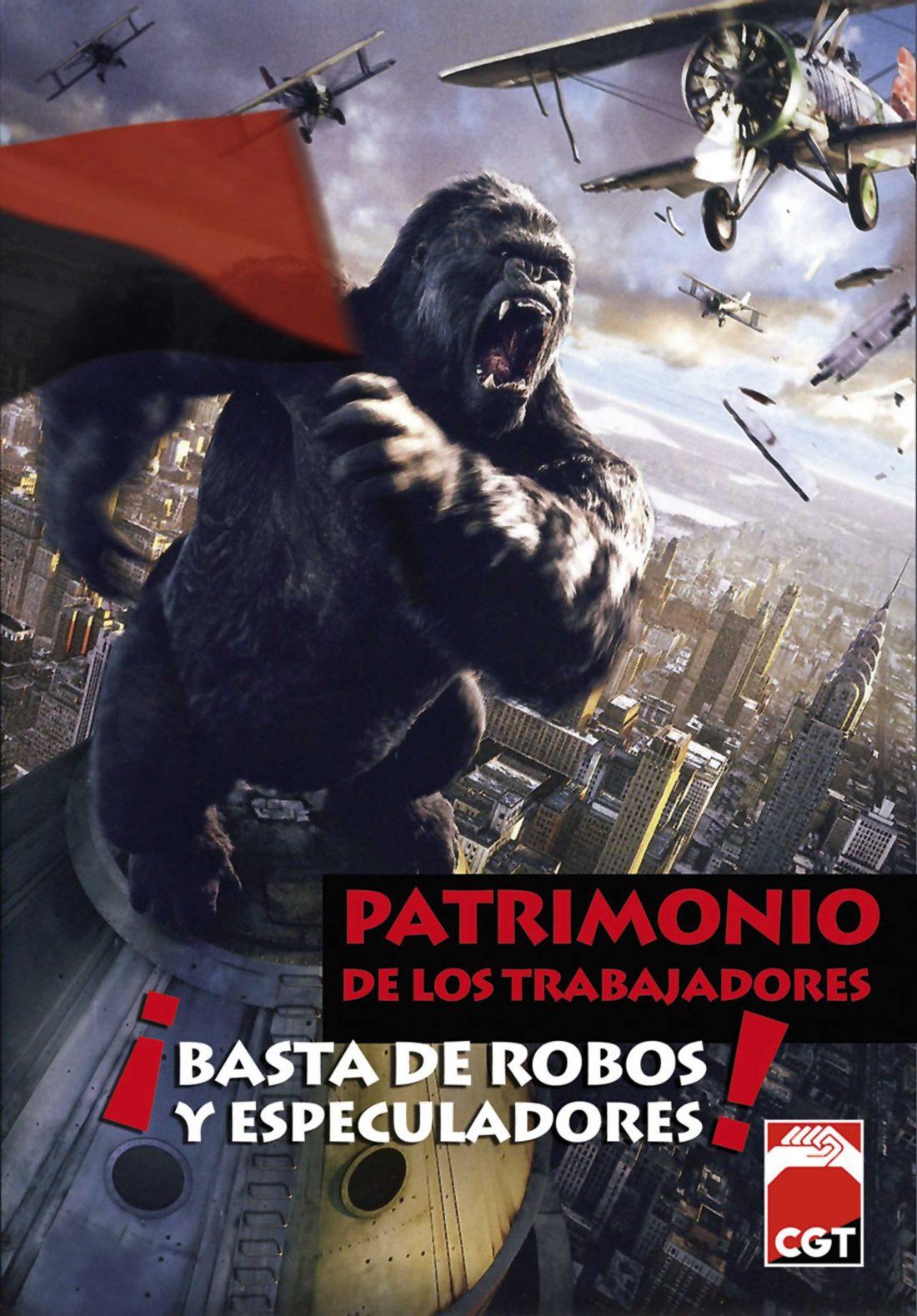 Este jueves 6 de Mayo, en Barcelona, CONCENTRACIÓN en defensa del patrimonio sindical de la CGT