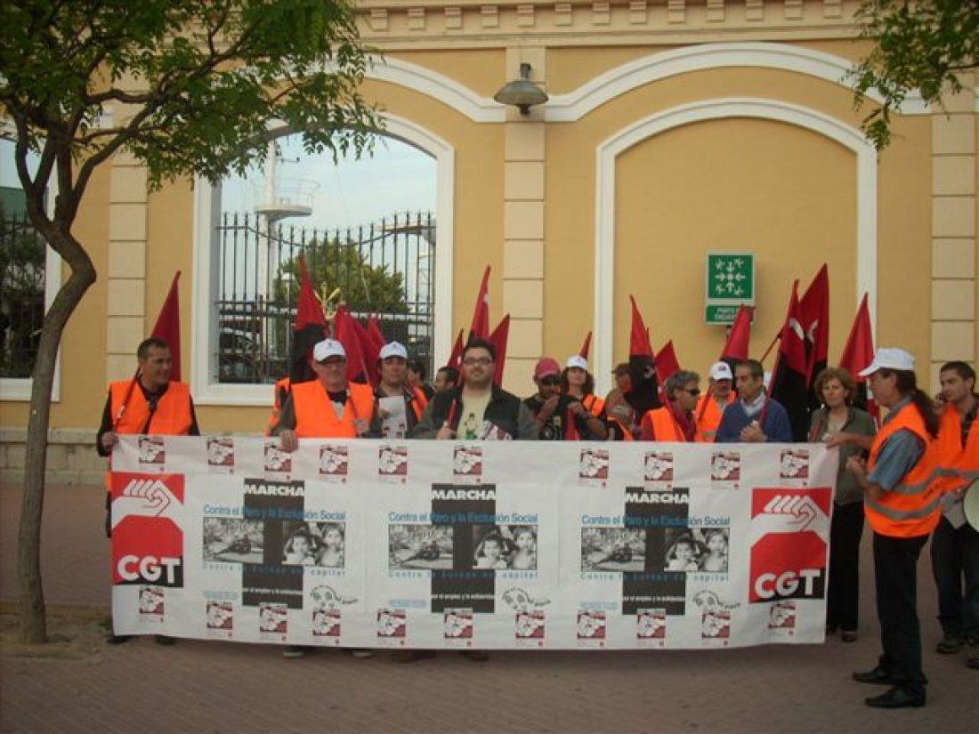 Caravana contra la crisis de CGT Alicante: Imágenes