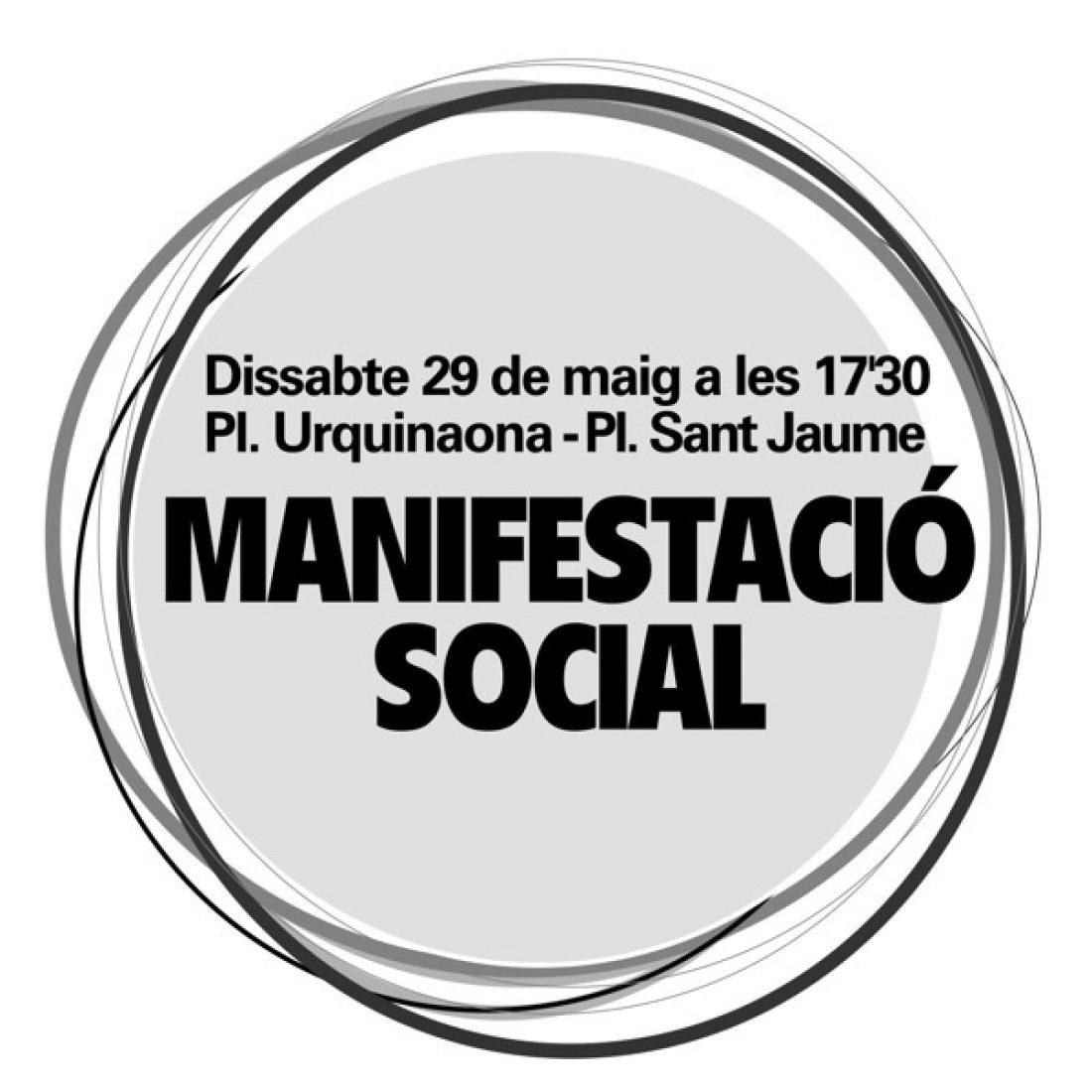 Barcelona, 29 de Mayo: Manifestación en defensa de la enseñanza pública