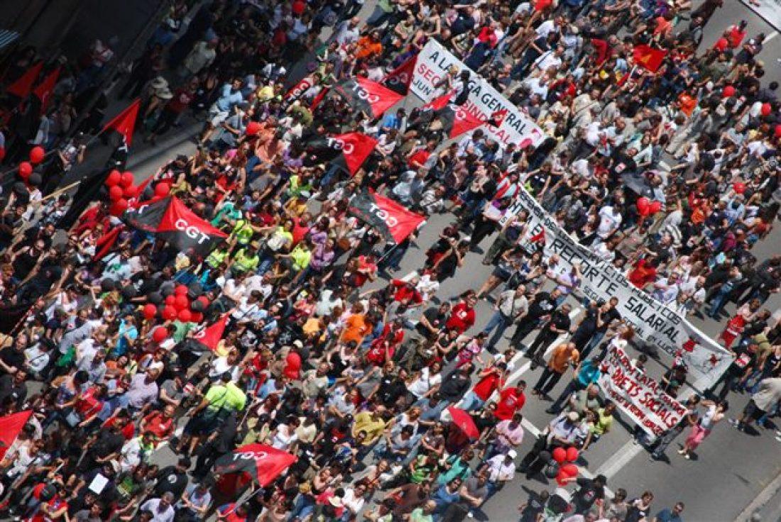8 de Junio: Seguimientos y acciones de la Huelga del sector público, y de la Jornada de Lucha convocada por la CGT