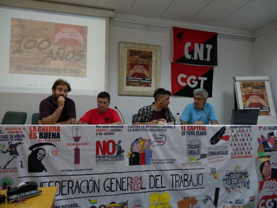 Crónicas y fotos de las Jornadas de Anarcosindicalismo e Internacionalismo de Valencia