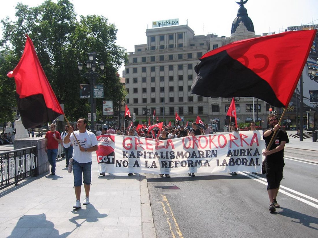 Valoraciones y crónicas de la jornada de Huelga General en Euskal Herria